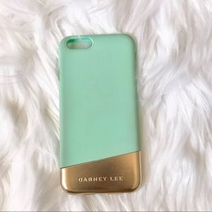 Dabney Lee Teal and Gold iPhone 6/6s Case